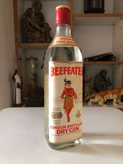 Beefeater gin (unopened)