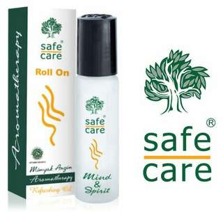 SAFE CARE; Roll on; Aromatherapy