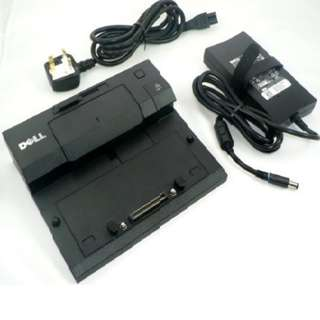 Dell E-Port Replicator A01 PR03X Docking Station (NEW; still in original factory packaging unused)