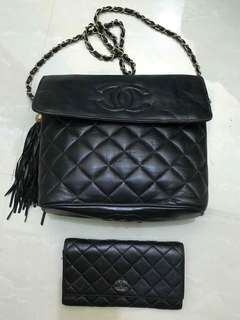 Chanel Vintage Set with free wallet