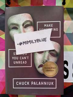 Make Something Up by Chuck Palahniuk