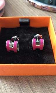 Hermes pop H earrings