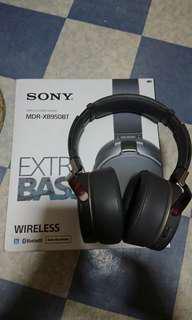 Sony wireless headset MDR-XB950BT