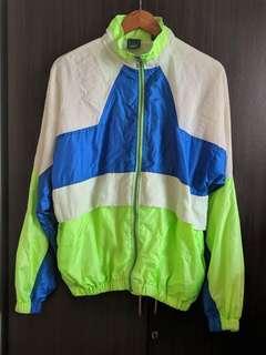 Vintage Festival Windbreaker Neon Jacket