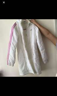 Adidas Down 女裝 羽絨 外套 大褸 白色 女童 jacket coat