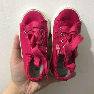 Zara Baby Fuschia Sneakers