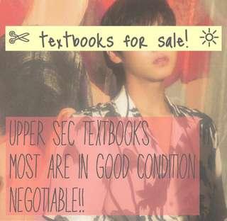 sec 3&4 textbooks!
