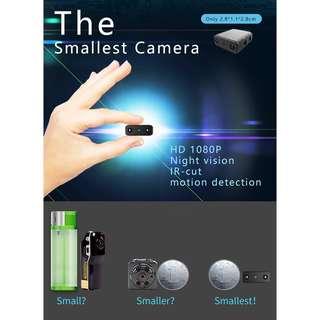 Camera Smallest 1080P Full HD Camera Mini Camcorder Micro Infrared Night Vision