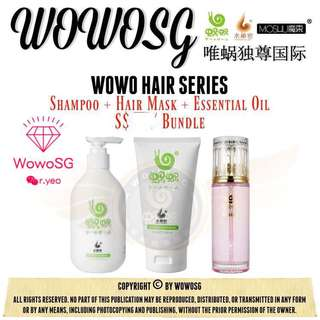 🚚 Wowo Complete Haircare Set