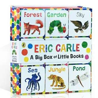 A Big Box Of Little Books - Eric Carle
