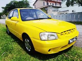 Hyundai accent 1.5 Auto.