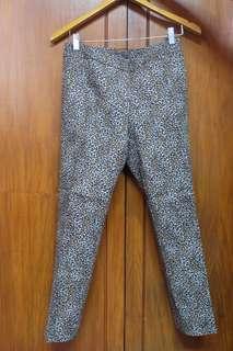 White House Black Market Slim Ankle Printed Pants
