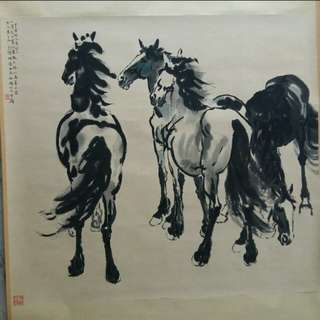Chinese Painting  118 x 106cm