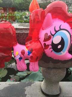 Pony lantern in pink & purple
