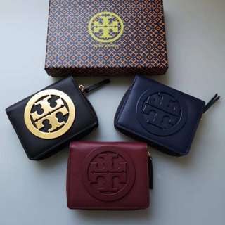 SALE 😊Tory Burch wallet 短款銀包