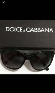 Dolce Gabbana Black Sunglasses