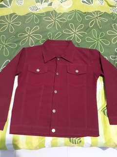 Perka jaket merah