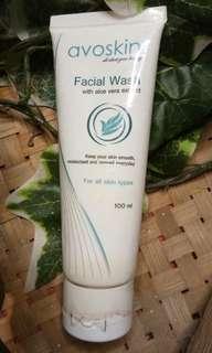 Avoskin facial wash