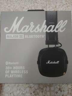 Marshall Major 3 Blue tooth