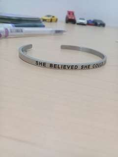 Stainless Steel Statement Bangle