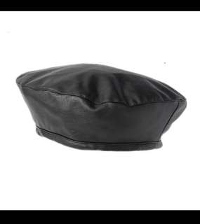 Asos PU leather beret new