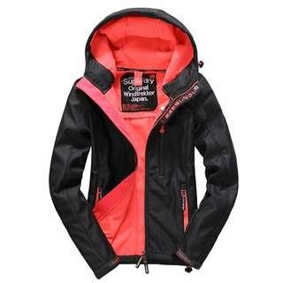🚚 SUPERDRY極度乾燥 防風連帽外套