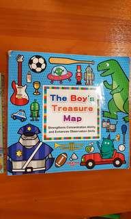 The boys treasure map