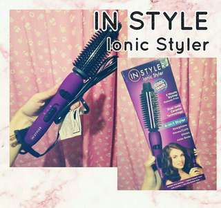 In Style; Ionic Styler Pro; Curling Iron