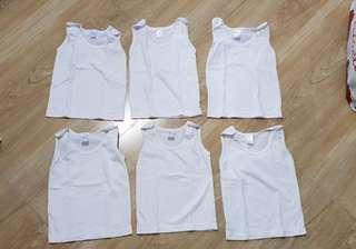 Preloved white sandos 0 to 3 mos - 30 each