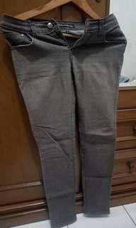 Celana bahan wanita coklat