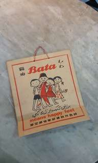 Old Bata Paper Bag