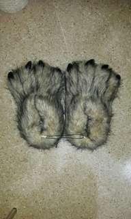 Bear Feet Bedroom Slippers