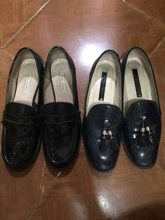 Authentic Zara shoes lot of 2