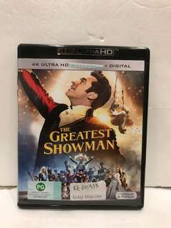 GREATEST SHOWMAN 4K