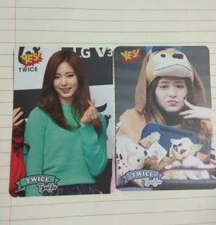 Twice Yescard 子瑜