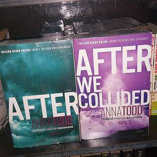 After And After We Collided By Anna Todd