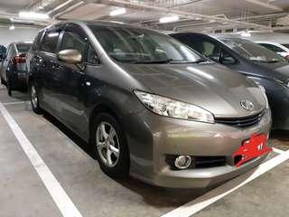 Toyota wish transport services