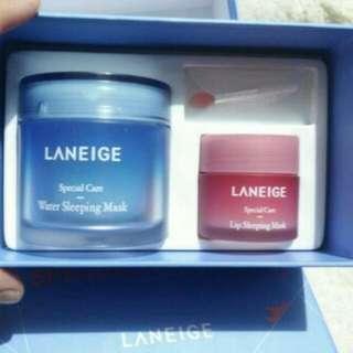 Laneige sleeping mask laneige lip mask special kit