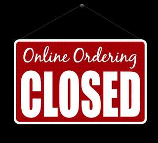 Closed Order 19 JULY (THURSDAY)