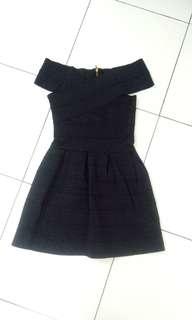 Off Shoulder Dinner Dress【Pre-loved】#SUBANGJAYASWAP