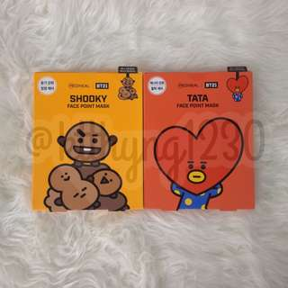 BT21 FACE POINT MASK