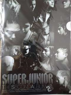 Super junior 2 輯 Don't don't  A4 File
