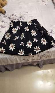 🚚 小花褲裙one size