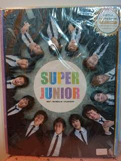 Super Junior 2007 年月曆