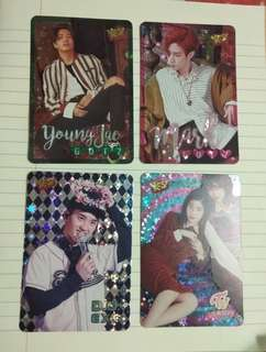 Yes Card GOT7 閃卡 exo twice