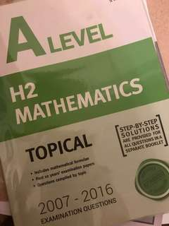 [NEW] A Level H2 Mathematics Topical TYS