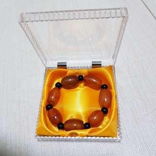 🚚 红玉髓 [Carnelian] + 黑耀石 [Obsidian] + 手链 + 精美盒