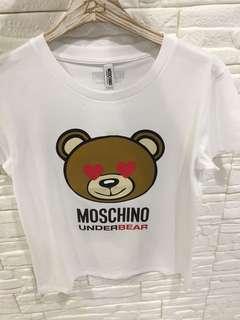 Moschino bear tee