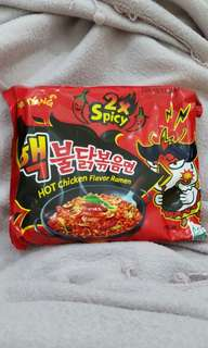 SAMYANG Hot Chicken Flavor Ramen 2x Spicy