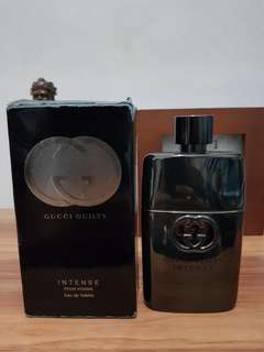 Parfum original Gucci Guilty intense 100ml sisa 80%